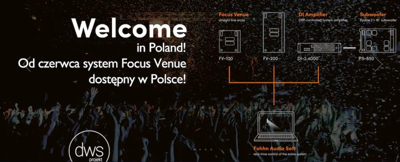 Mamy pierwszy system Focus Venue w Polsce