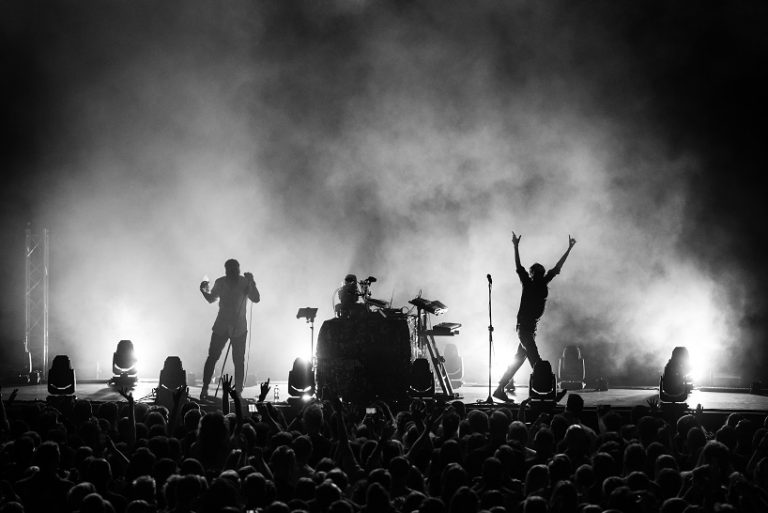 nagłośnienie koncertu Bass Astral x Igo Arena Poznań Fohhn Polska