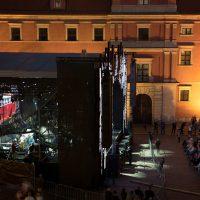 Plac Zamkowy w Warszawie. Premierowy koncert Fohhn Focus Venue w Polsce